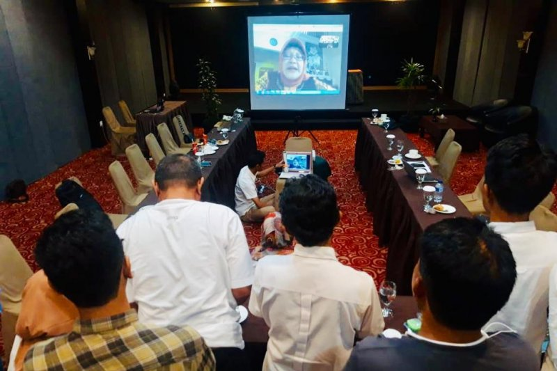 LKBN Antara Biro Kepri gelar Meeting Group