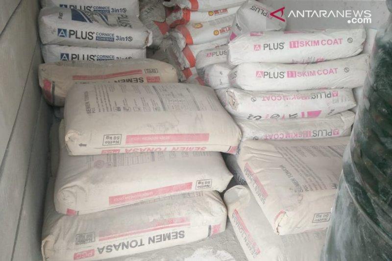 Permintaan bahan bangunan di Palu terus meningkat