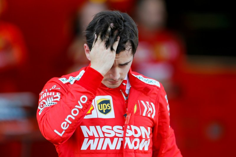 Leclerc akui strategi tim tak berjalan baik, di Sirkuit Baku