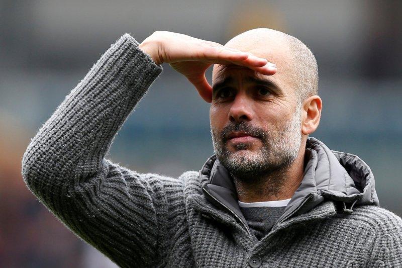 """Pep Guardiola : akui """"tidak gugup sama sekali""""  jelang pertandingan krusial City"""