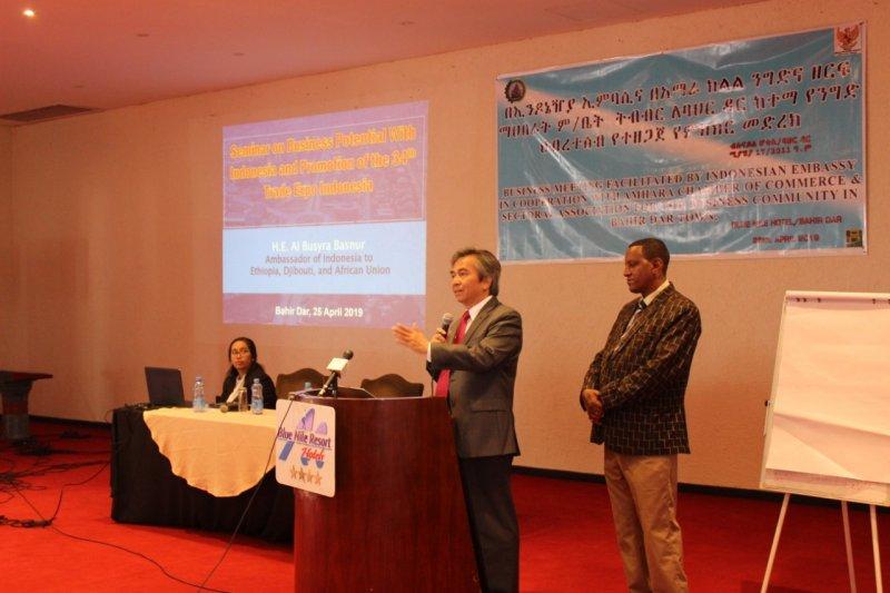 Dubes RI: Pengusaha Ethiopia berencana kunjungi Indonesia
