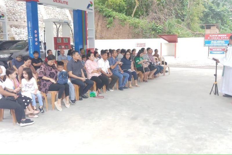 SPBU ke-10 keluarga Kandoli-Antou di Sawangan Minut beroperasi