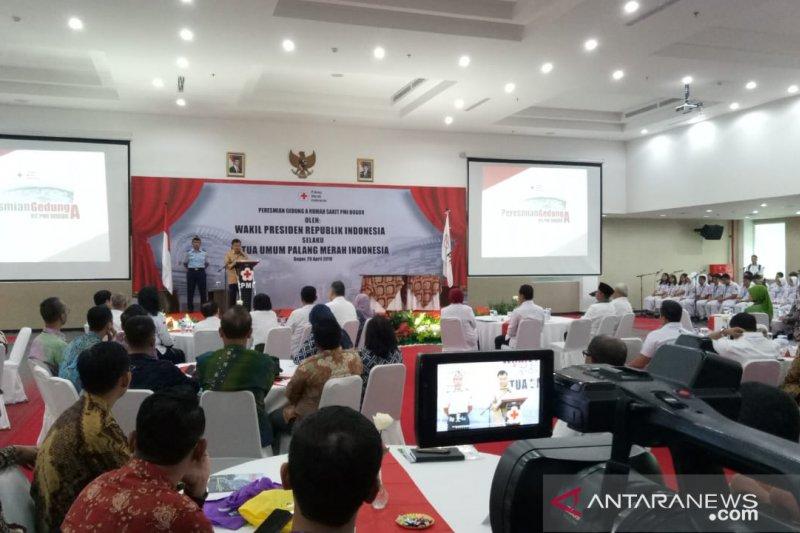 Wapres resmkian gedung baru RS PMI Bogor