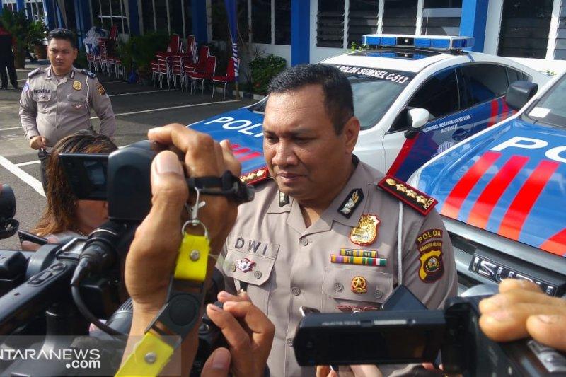 Ditlantas Polda Sumsel petakan jalan rusak di tiga jalur lintas Sumatera