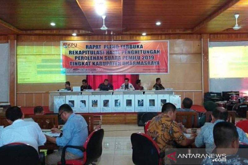 210 personel polisi dikerahkan amankan rekapitulasi tingkat kabupaten Dharmasraya