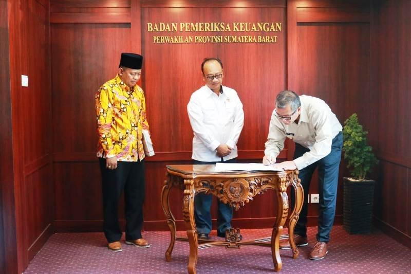 Payakumbuh sebagai kabupaten/kota pertama di Sumbar raih WTP