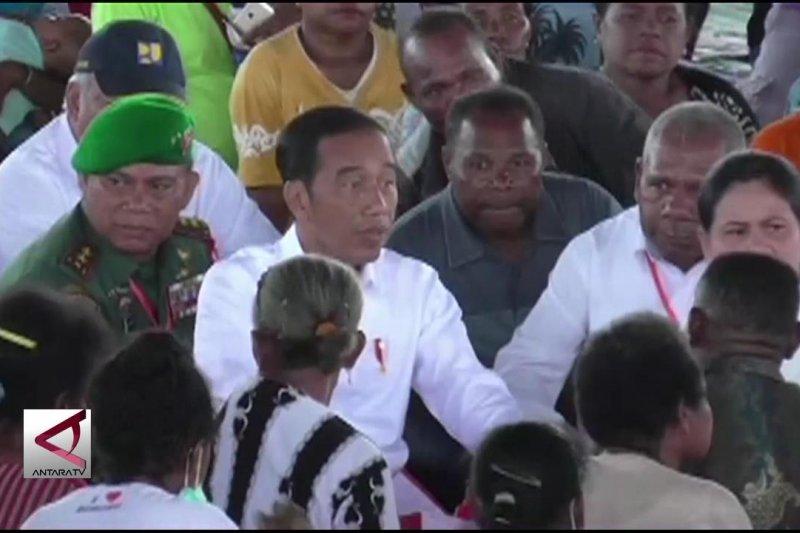 Presiden kunjungi korban banjir bandang Sentani