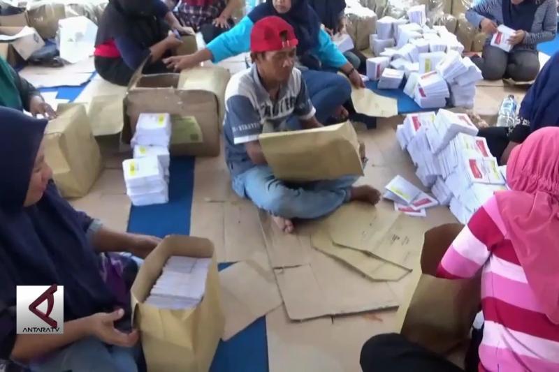 KPU Ngawi gunakan surat suara rusak ringan