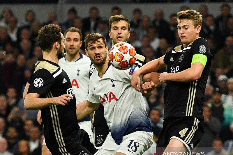 Ajax menang tipis atas Tottenham di laga pertama semifinal Liga Champions