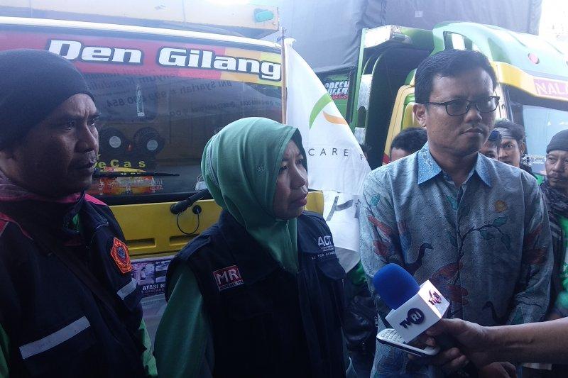 ACT Lampung kirim logistik 40 ton ke Bengkulu