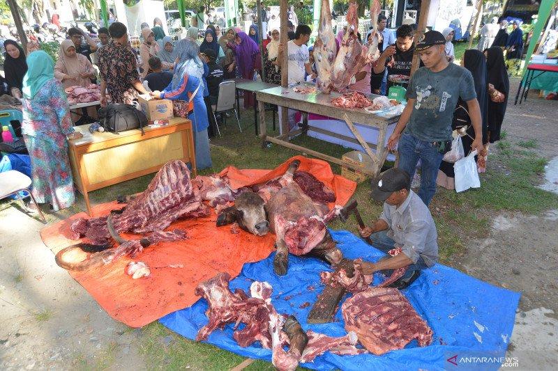 Pemkab Aceh Barat larang tradisi jual daging meugang cegah COVID-19