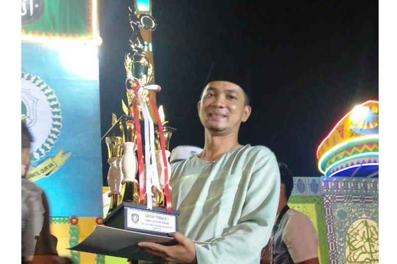 Grup Rebana Raudatunnisa Lingga juara 1 STQH Kepri