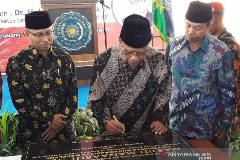 Jangan jadikan masjid tempat kemudaratan, kata Ketua PP Muhammadiyah