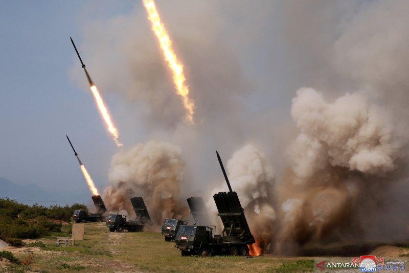 Korsel: Korut tembakkan dua rudal