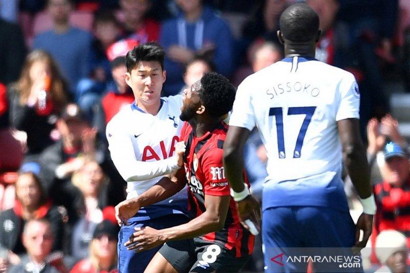 Tottenham ditundukkan Bournemouth jelang bubar 0-1