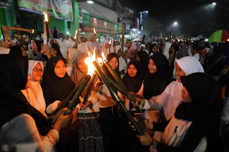 Konvoi obor Ramadhan, Wali Kota Madiun ajak warga jaga kerukunan