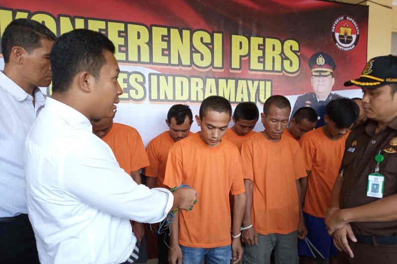 Polisi ringkus pembobol rumah dinas Kasi Intel Kejari Indramayu