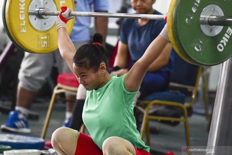 Sebelum hadapi SEA Games lifter junior akan diuji di Kejuaraan Asia