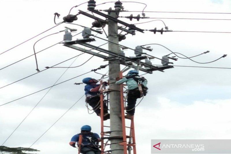 PLN perbaiki 40 penyulang di Jayapura