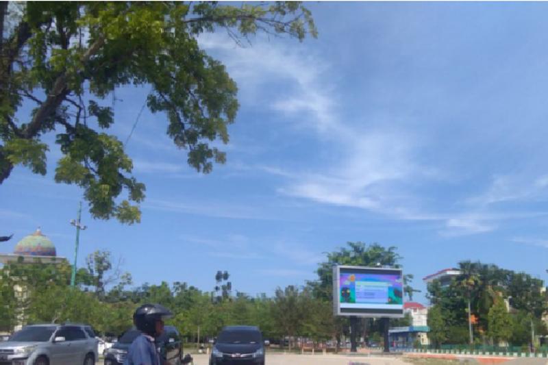 Pesisir Selatan facilitated the community to trade 'takjil' in Taman Spora