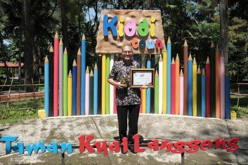 Taman Kyai Langgeng raih Top BUMD