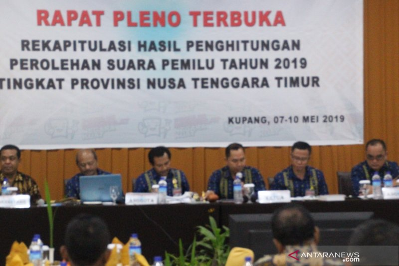 Jokowi-Amin unggul sementara di NTT