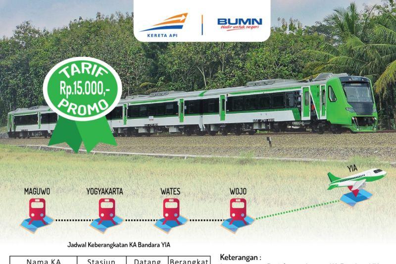 KAI operasikan KA Bandara Internasional Yogyakarta