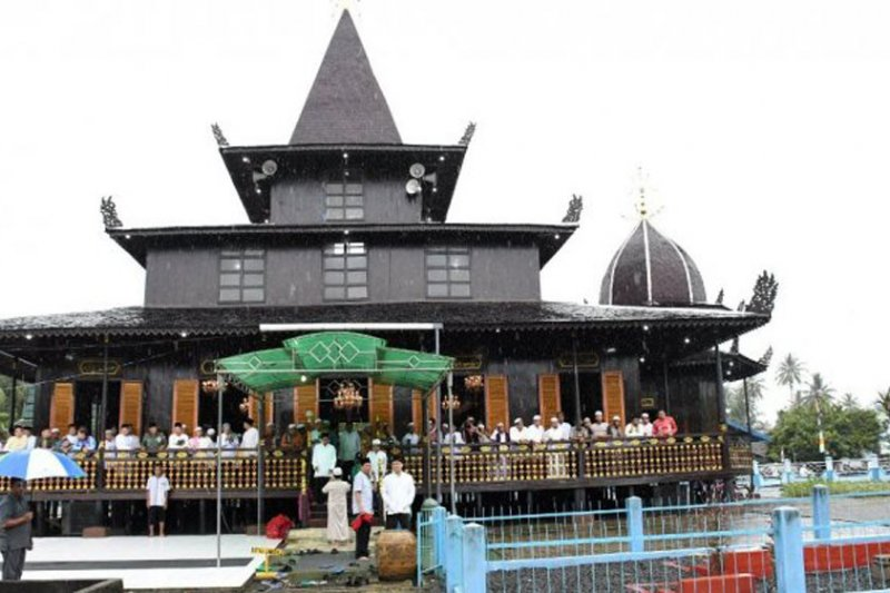 Peneliti luar negeri tertarik arsitektur unik Masjid Lancip Amuntai