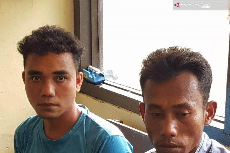 Satreskrim Narkoba Polres Pasaman Barat tangkap pengedar-kurir sabu