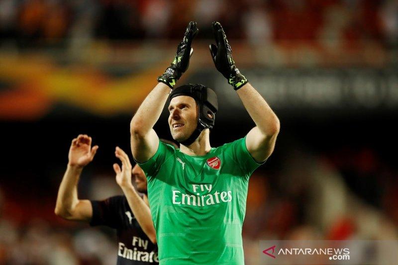 Mimpi Cech untuk tampil di final bersama Arsenal terwujud