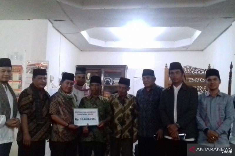 Tim Safari Ramadhan Kabupaten Solok kunjungi jamaah masjid Nurul Iman