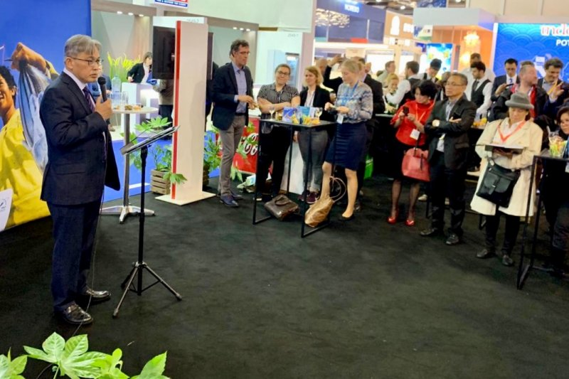 Anjungan  Indonesia ramaikan Seafood Expo Global 2019