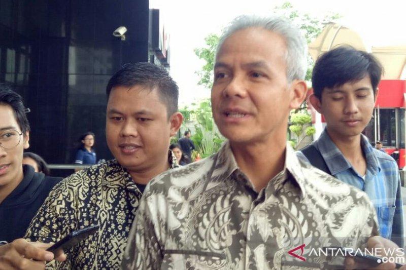 KPK periksa Gubernur Jawa Tengah Ganjar Pranowo terkait kasus KTP-e