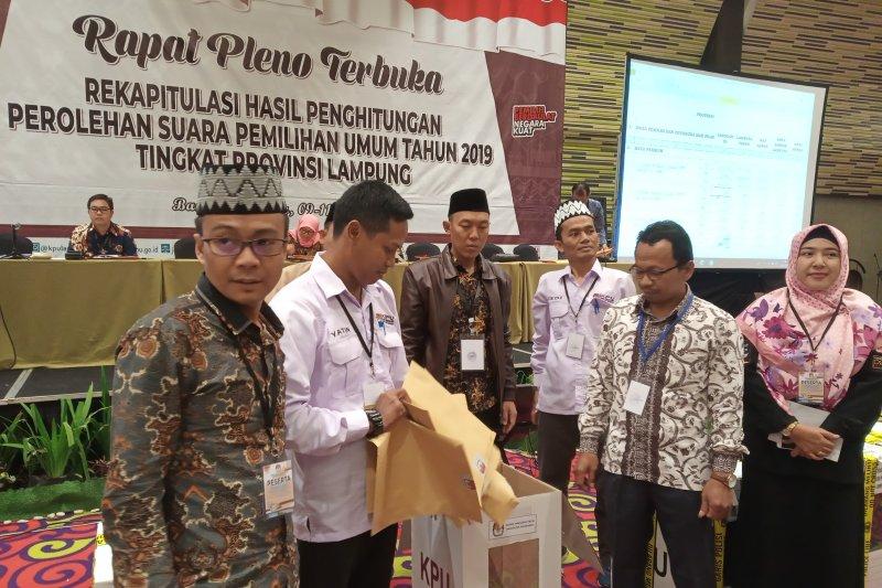 Jokowi-Ma'ruf Amin unggul di Kabupaten Pesawaran