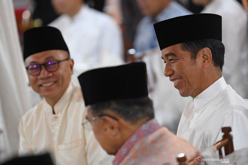 Jokowi-Amin menang telak di NTT dengan meraih 88,57 persen suara