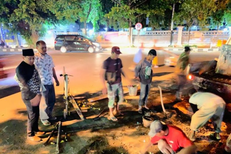 DPUPR kebut perbaikan jalan berlubang Kota Malang untuk arus mudik