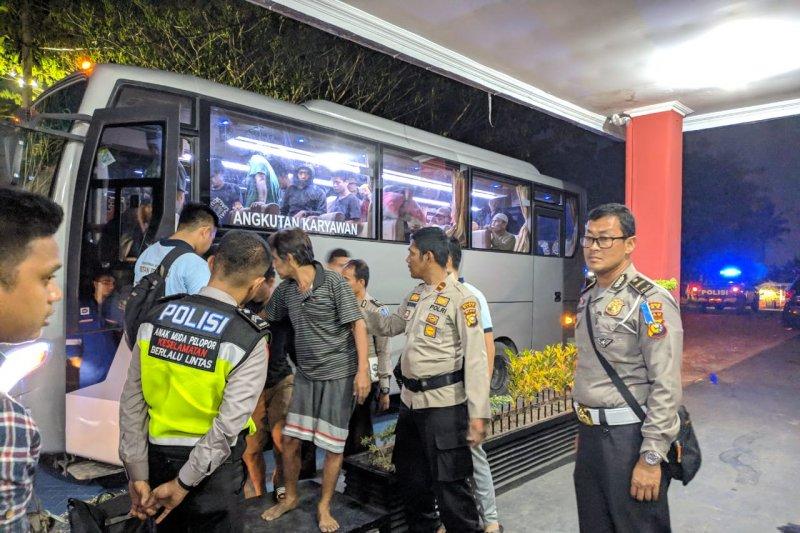 TNI-Polri kawal ketat pemindahan napi Rutan Siak