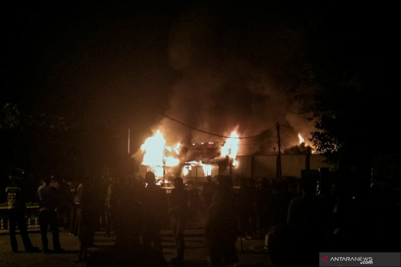 Kapolda : Tidak ada korban jiwa kerusuhan di Rutan Siak