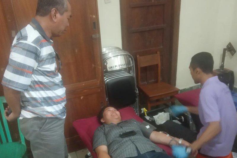 GKJ Plengkung donor darah perkuat ketersediaan selama Ramadhan