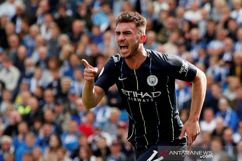Babak pertama Manchester City unggul 2-1 atas Brighton