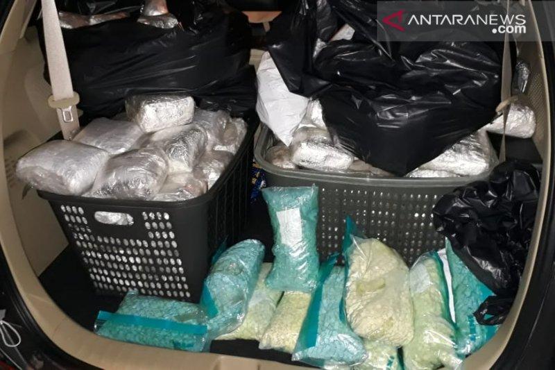 250 kilo sabu disita BNN di Bekasi