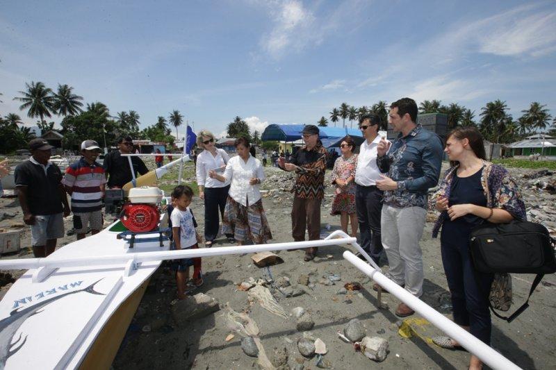 Prancis bantu 1 juta Euro untuk nelayan korban tsunami di Sulteng