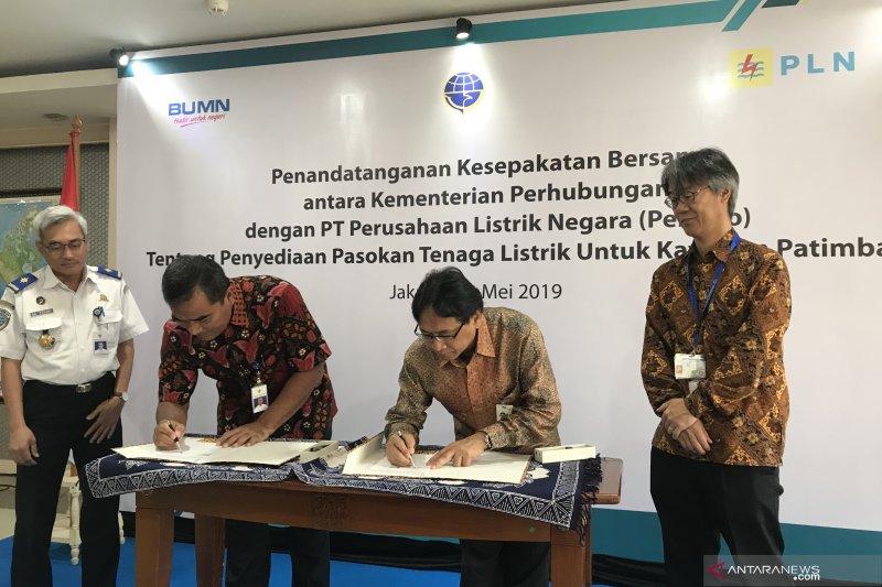Kemenhub dan PLN kerja sama pasok listrik pelabuhan Patimban Jabar