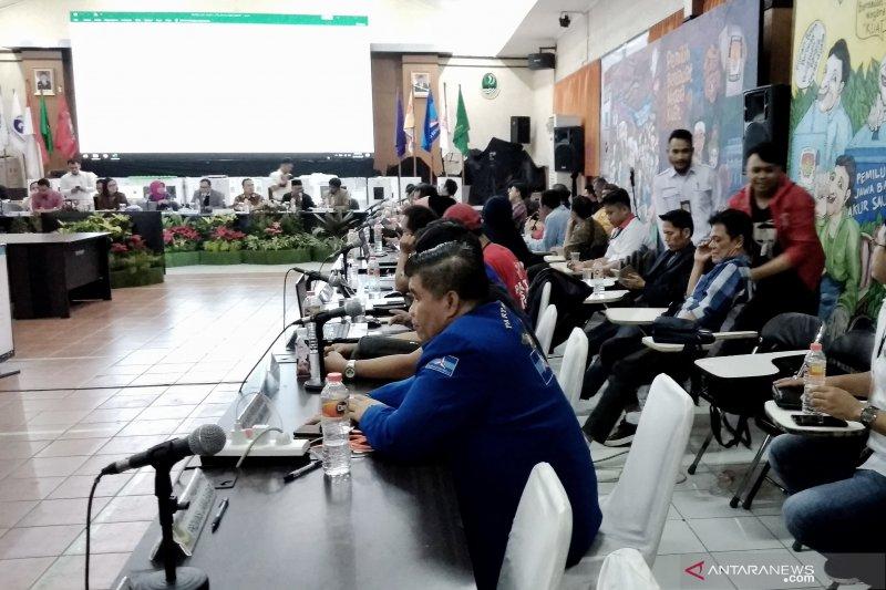 Saksi Prabowo-Sandi tidak menandatangani hasil pilpres di Jabar