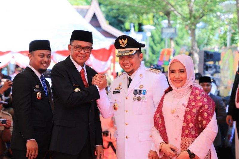 Pj Wali Kota Makassar  Iqbal Suhaeb resmi berkantor