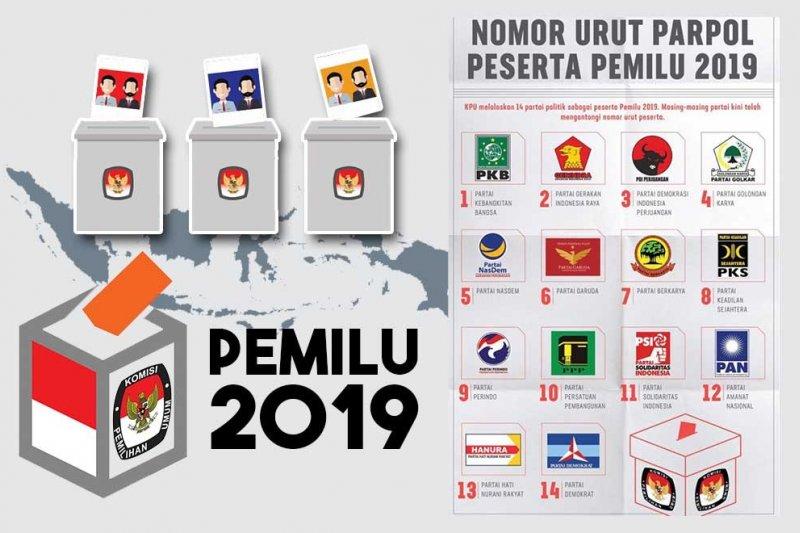 Rekapitulasi KPU RI sudah 26 provinsi, Jokowi-Ma'ruf unggul di 16 provinsi