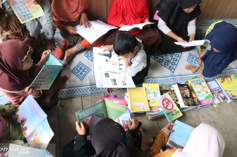 Membuka akses baca bagi anak-anak pelosok Padang Pariaman
