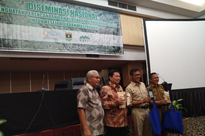 Distribusi lahan perhutanan sosial di Indonesia sudah 3,07 juta hektare