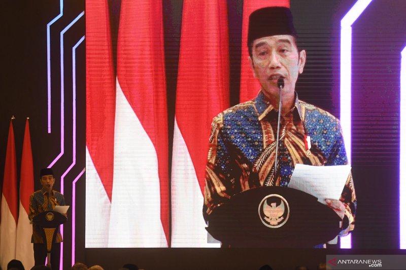 Presiden Jokowi: Indonesia ingin ikut dalam kue besar ekonomi syariah