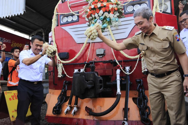 KAI tambah frekuensi KA Pangrango rute Bogor-Sukabumi
